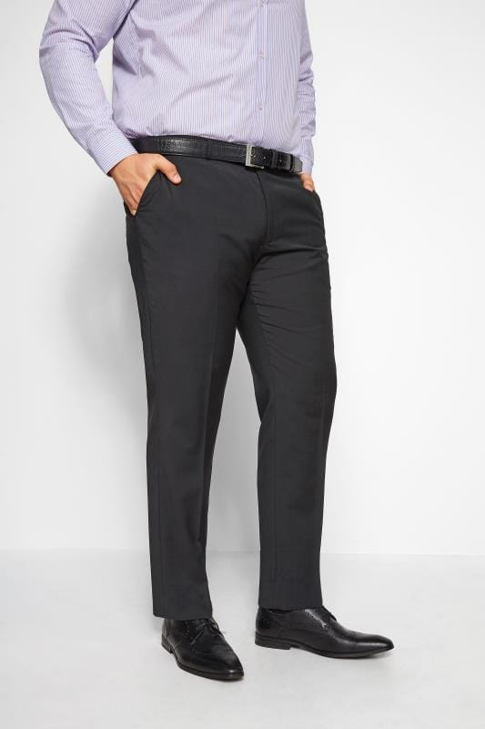 BadRhino Black Suit Trousers