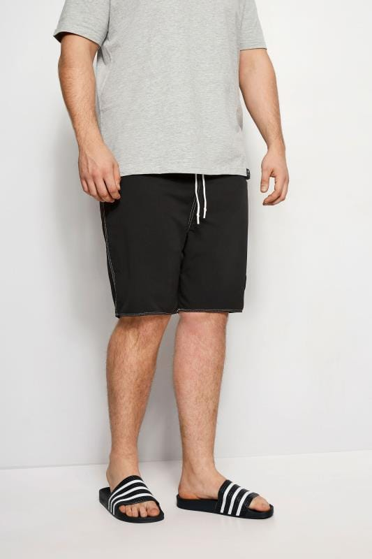 BadRhino Black Swim Shorts