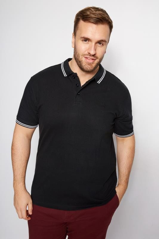 8972c1c2 Big and Tall Polo Shirts | Large Men's Polo Shirts | BadRhino
