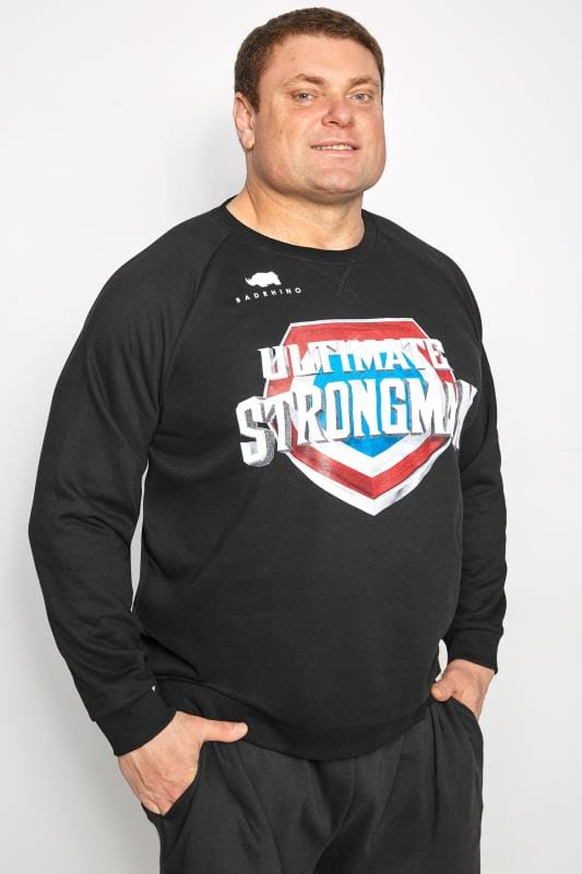 Sweatshirts BadRhino Black' Ultimate Strongman' Sweatshirt 200812