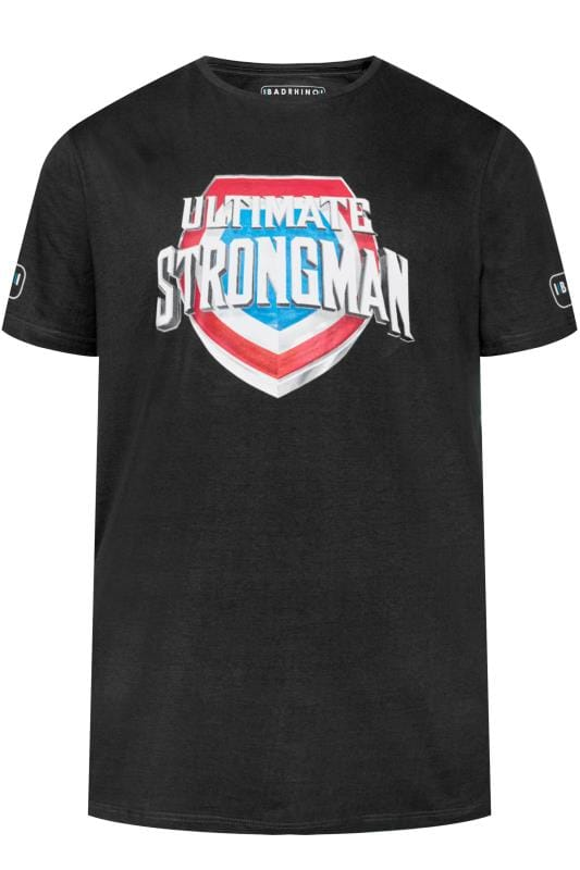 T-Shirts BadRhino Black 'Ultimate Strongman' T-Shirt 201051