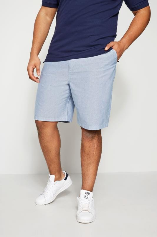 BadRhino Blue Chambray Shorts