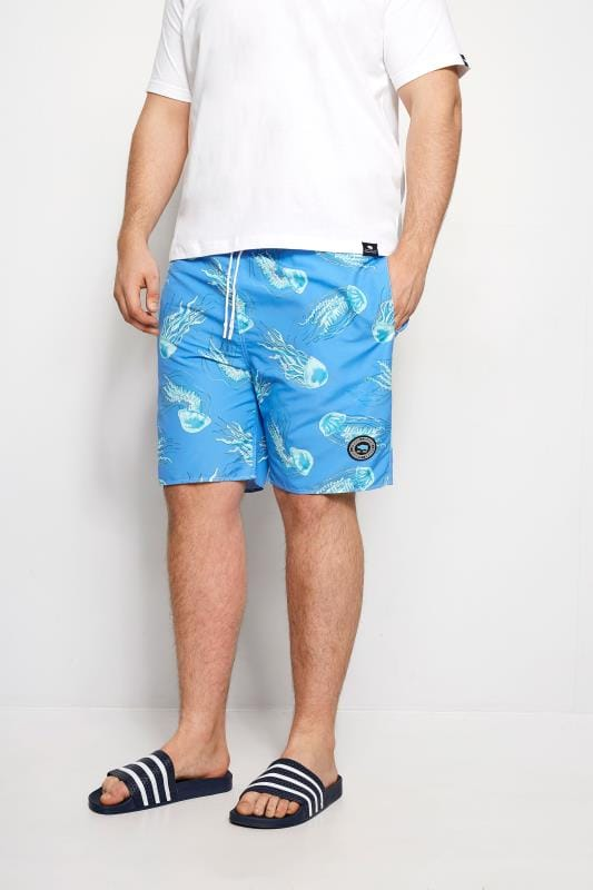 Swim Shorts BadRhino Blue Jellyfish Swim Shorts 200926