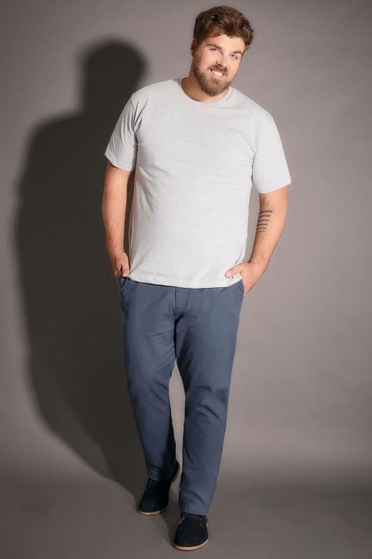 BadRhino Blue Stretch Chinos