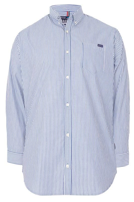 Smart Shirts BadRhino Blue Striped Shirt 200728