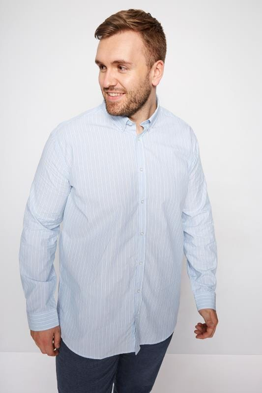 BadRhino Blue Striped Shirt