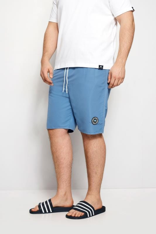 BadRhino Blue Swim Shorts