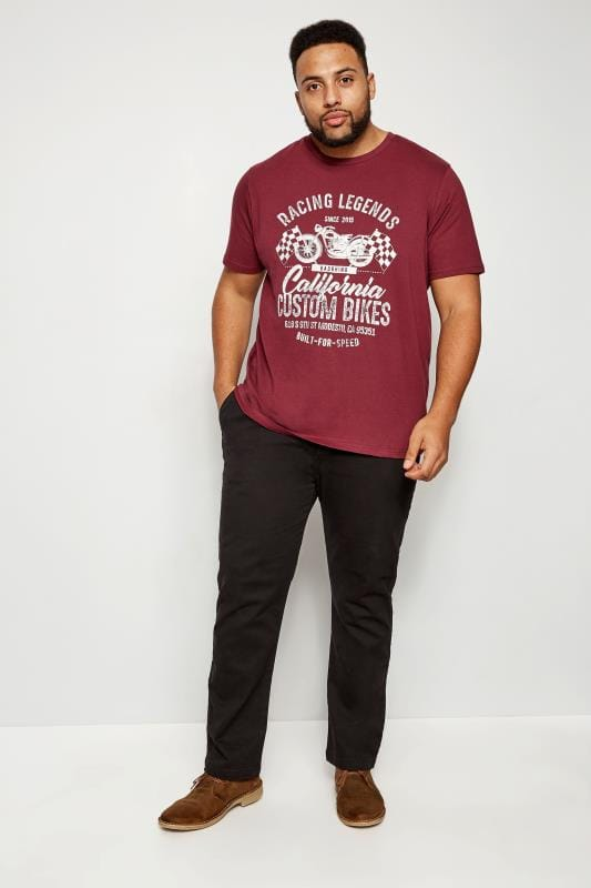 BadRhino Burgundy 'California' T-Shirt