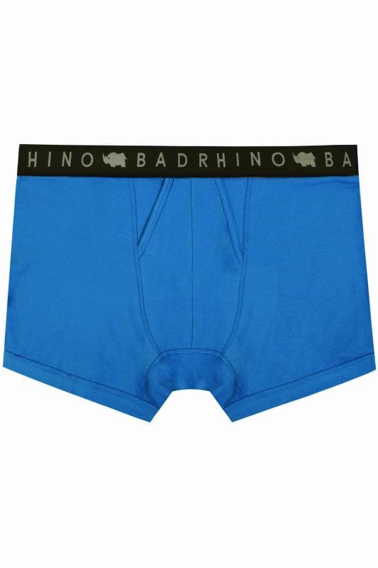 BadRhino Cobalt Blue Elasticated A Front Boxers