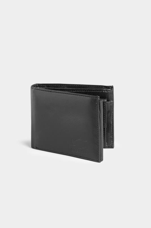 Gifts  BadRhino Genuine LEATHER Black Logo Embossed Tri-Fold Wallet 200525