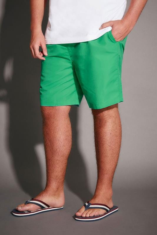 Swim Shorts BadRhino Green Swim Shorts 110405