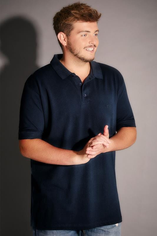 BadRhino Navy Basic Polo Shirt