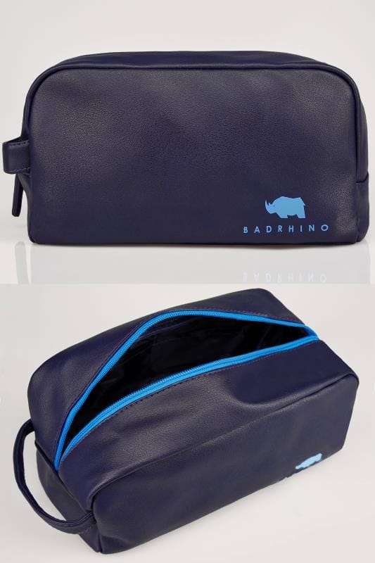 Gifts  BadRhino Navy Washbag 200527