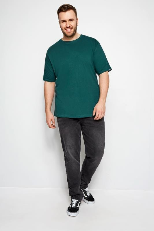 T-Shirts BadRhino Pine Green Basic T-Shirt 200980