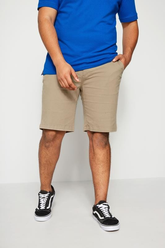 Chino Shorts BadRhino Stone Five Pocket Chino Shorts With Belt 200504