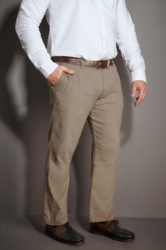 Chinos & Cords BadRhino Stone Stretch Chinos 110308