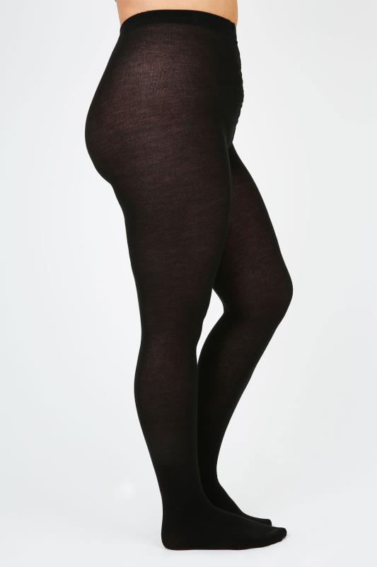 Black 200 Denier Super Soft Thick Tights