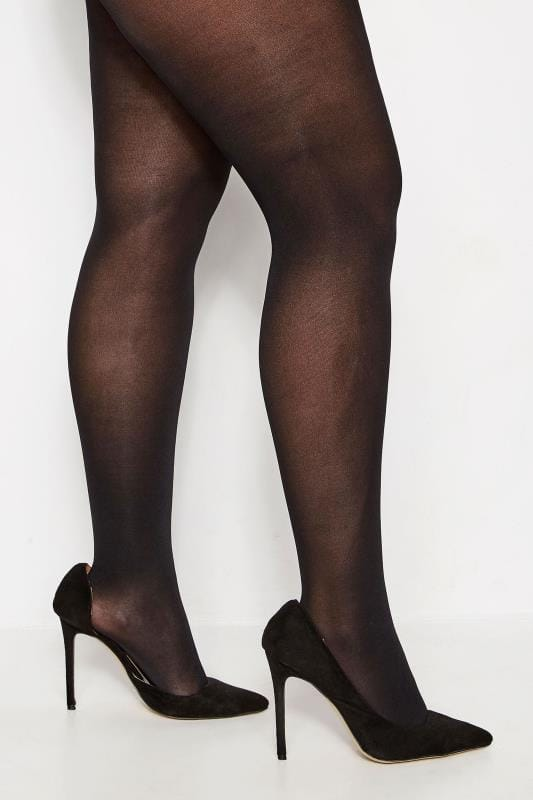 Plus Size Tights Black 50 Denier Tights