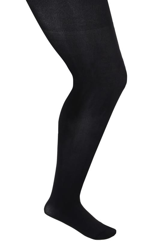Black 90 Denier Microfibre Premium Tights