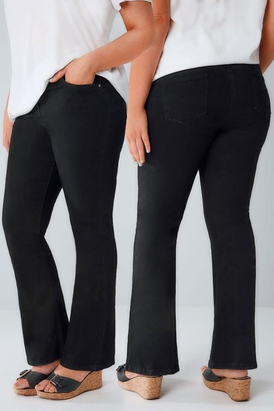 Bootcut & Flares Black Bootcut SHAPER ISLA Jeans 101597