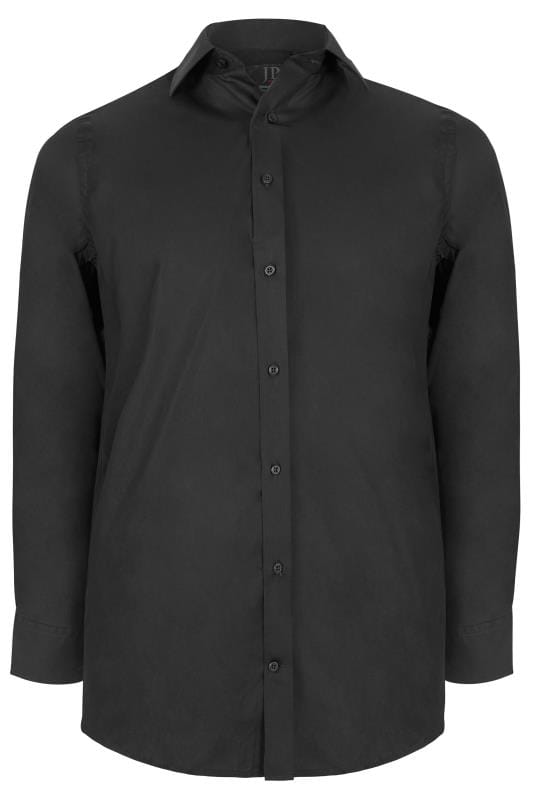 Smart Shirts Black Comfort Fit Shirt 200883