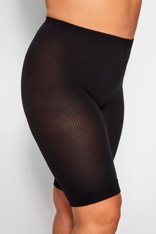 Plus Size Shapewear Black Comfort Shorts