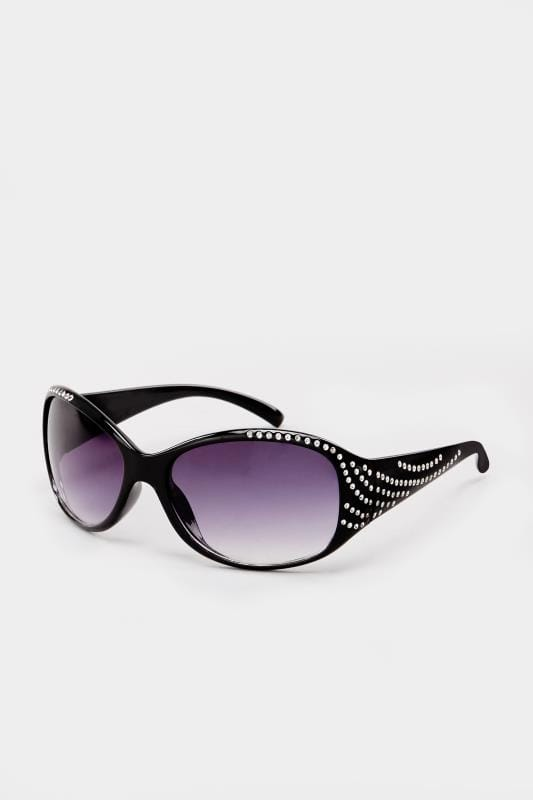 cd7762585f Gafas de sol negras diamante