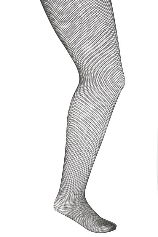 Plus Size Plus Size Tights Black Fishnet Tights