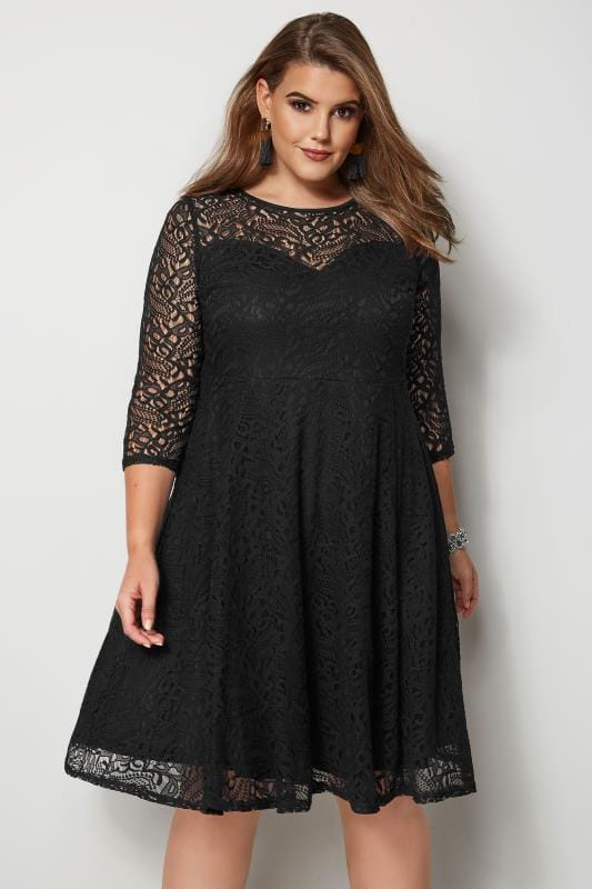 Plus Size Black Dresses Plus Size Little Black Dresses Yours