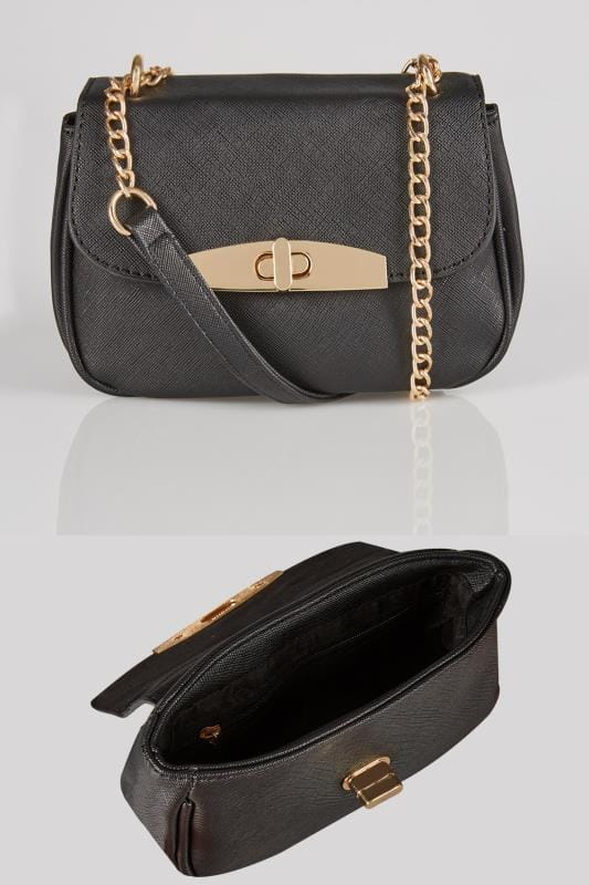 Plus Size Across-The-Body Black Mini Cross Body Bag