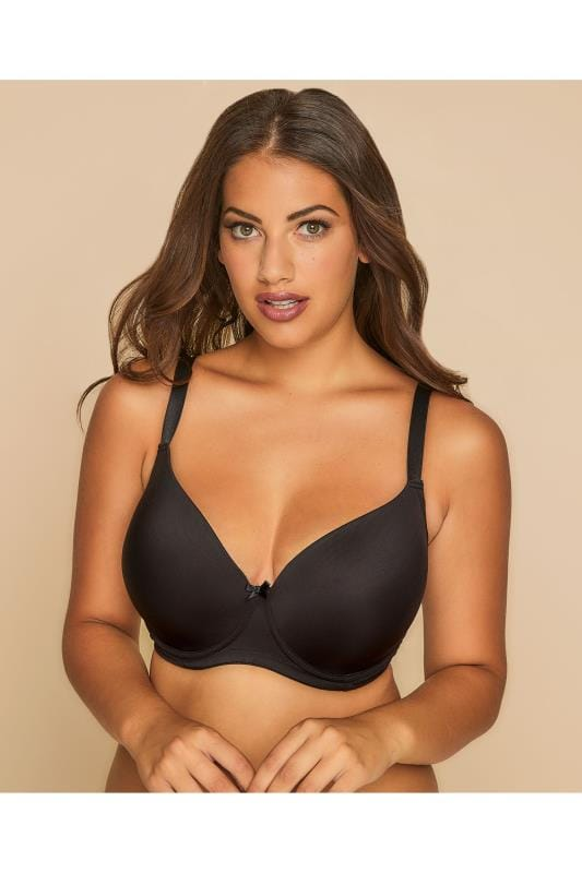 Black Moulded T-Shirt Bra