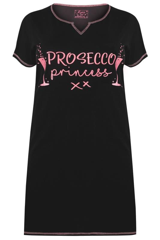 Black & Pink 'Prosecco Princess' Nightdress