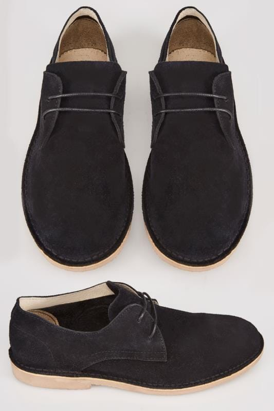 Black SUEDE Desert Shoe