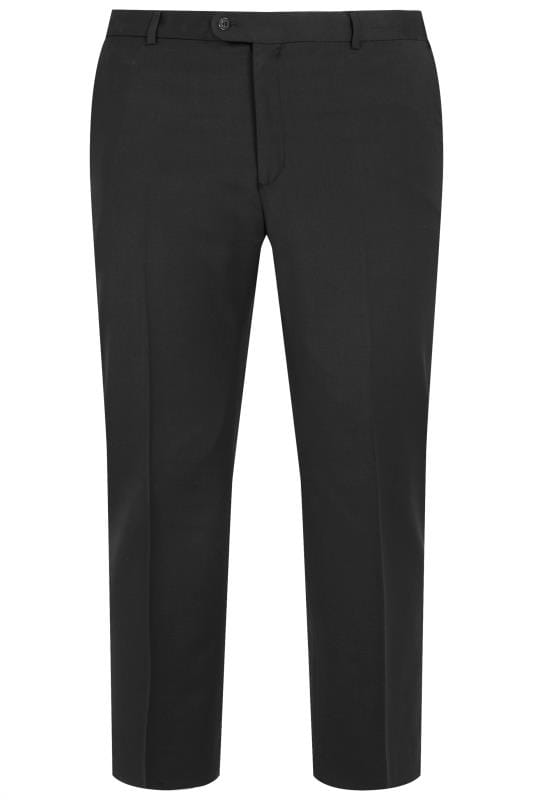 Smart Trousers BadRhino Black Suit Trousers 201231