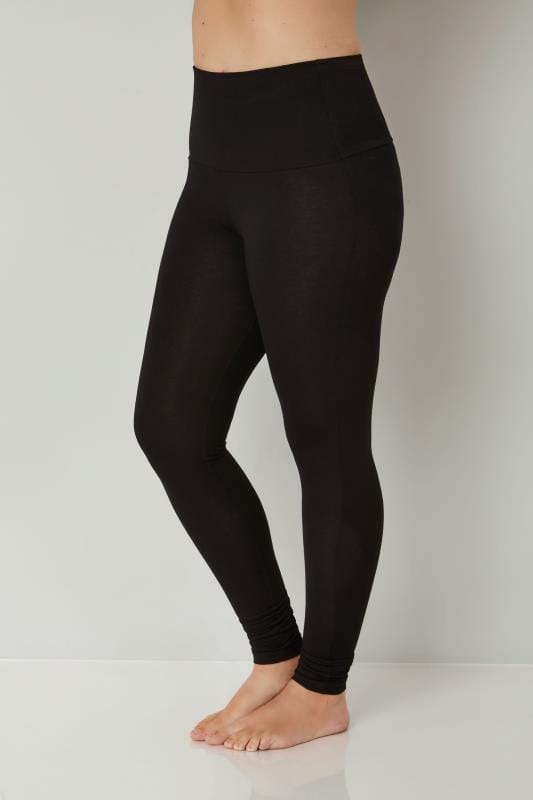 Black TUMMY CONTROL Soft Touch Leggings