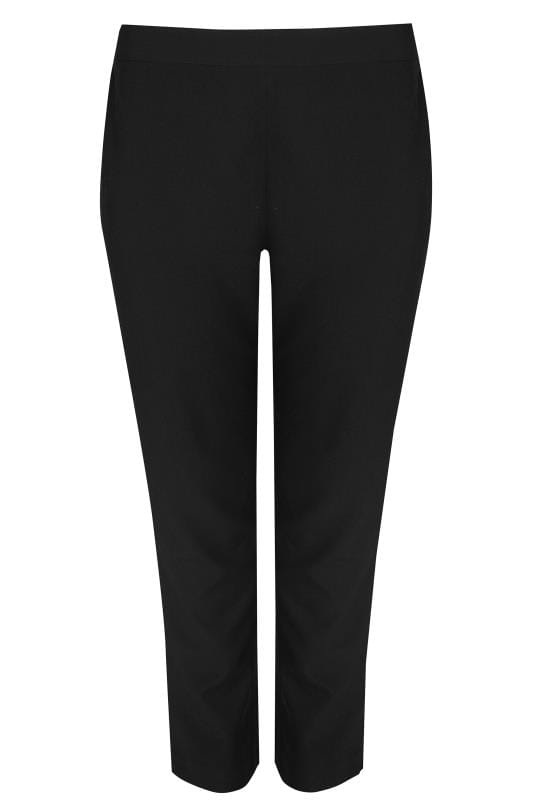 Black Tapered Trouser