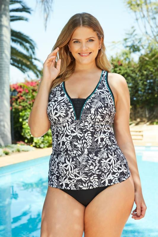 ff69681984 Plus Size Swimwear | Plus Size Bikinis & Swimsuits | Yours Clothing