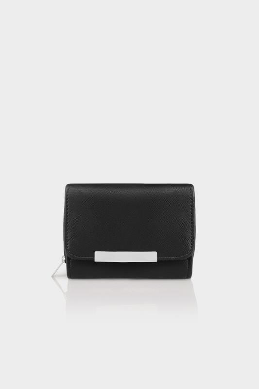 Black Zip Around Purse