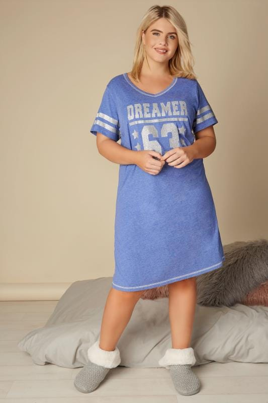 Blue 'Dreamer' Nightdress