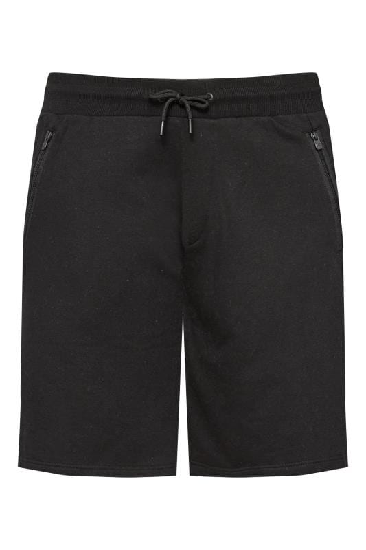 Jogger Shorts RAWCRAFT Black Sweat Shorts 201152