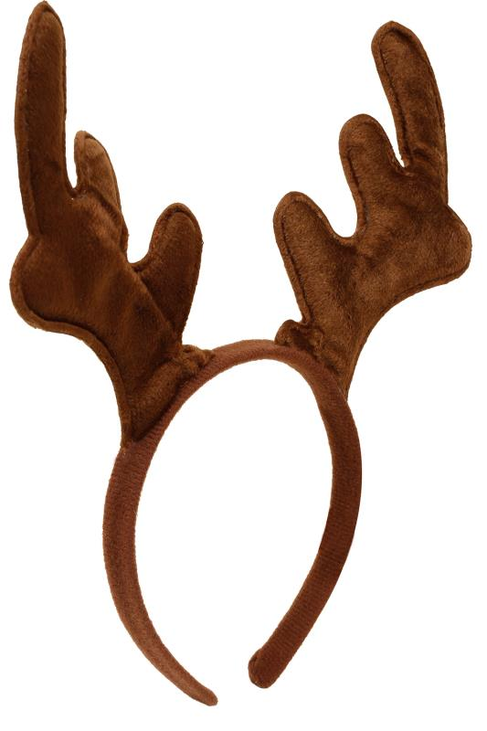 Brown Christmas Reindeer Headband