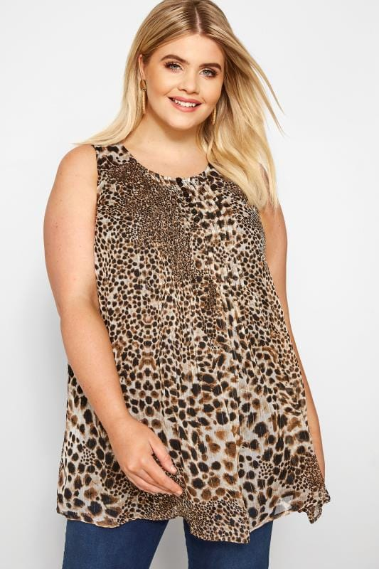 f54f4af3467b Plus Size Animal Print Clothing | Dresses, Tops & More | Yours Clothing