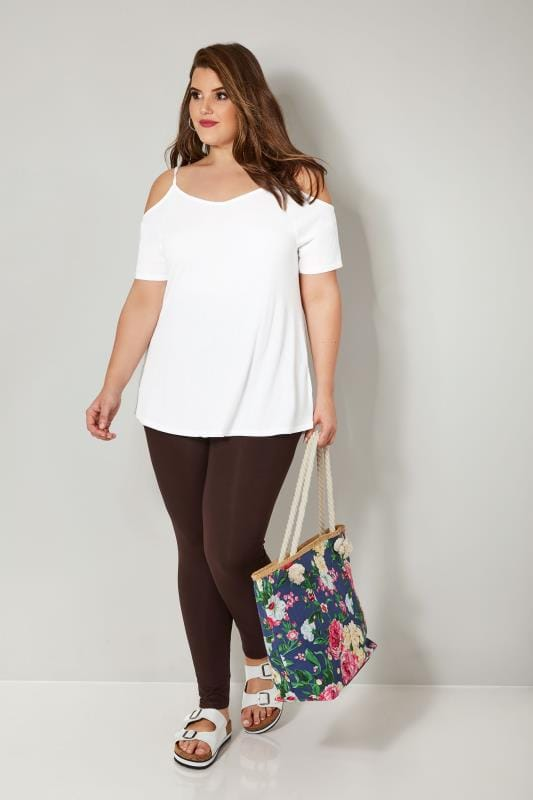 Chocolate Brown Soft Touch Leggings