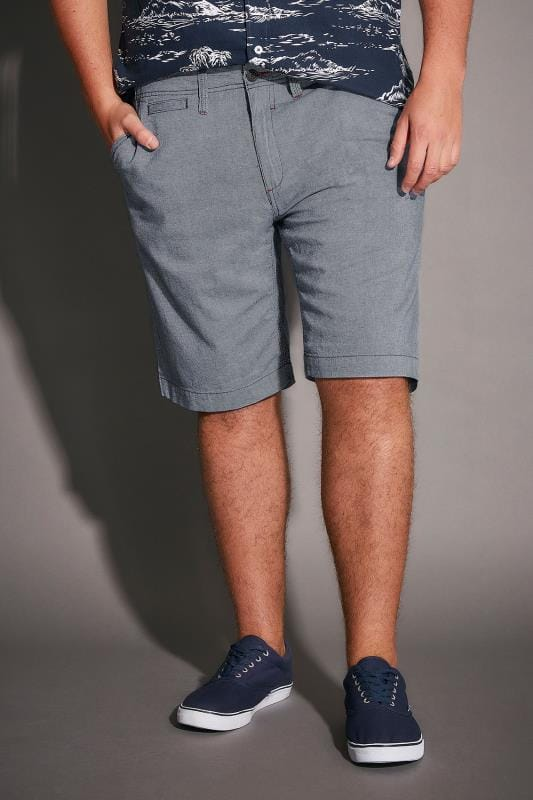 D555 Light Blue Benny Shorts