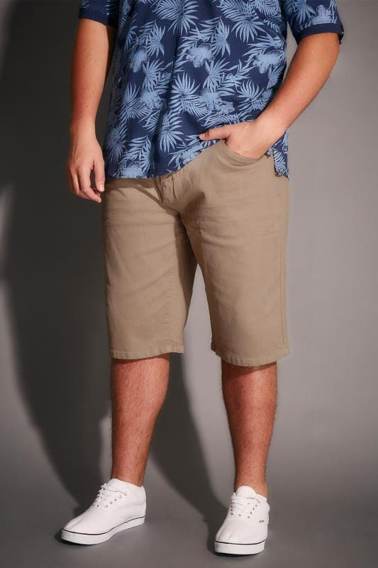 Dark Stone Denim 5 Pocket Shorts