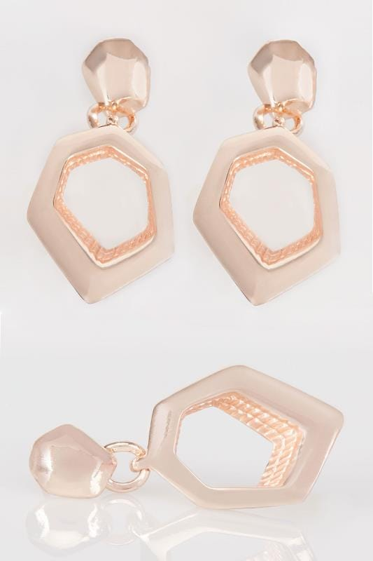 Earrings Gold Geometric Earrings 152166