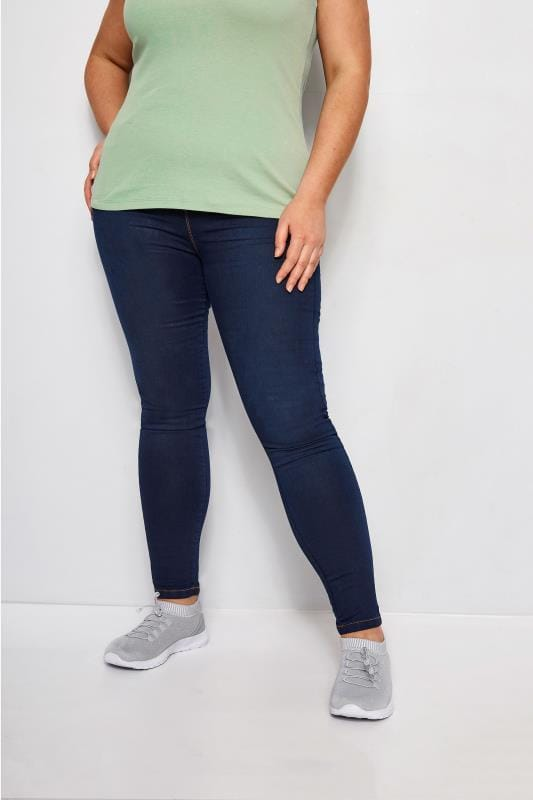 Indigo Blue Pull On LOLA Jeggings