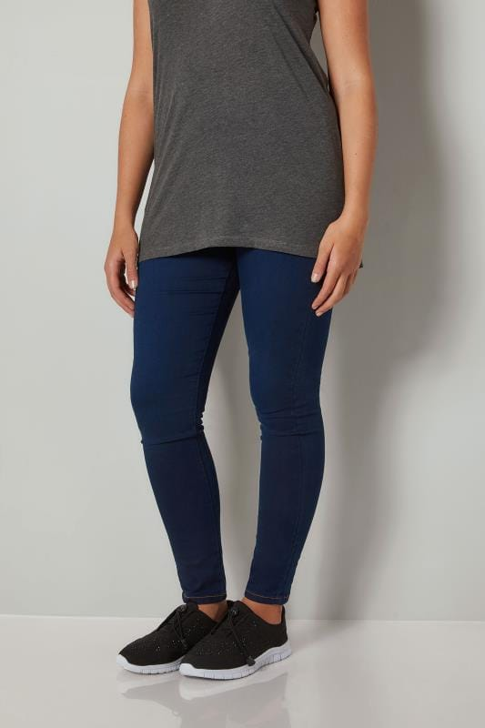 Navy Jeans-Shaper Jeggings