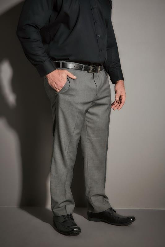 Suit Trousers JP 1880 Light Grey Suit Trousers 200873