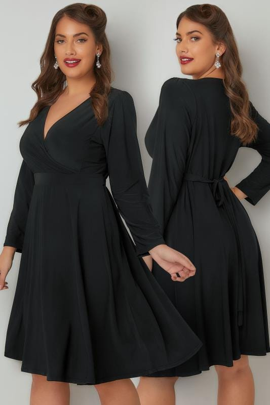 Robes Noires LADY VOLUPTUOUS Robe Lyra Noire 138738